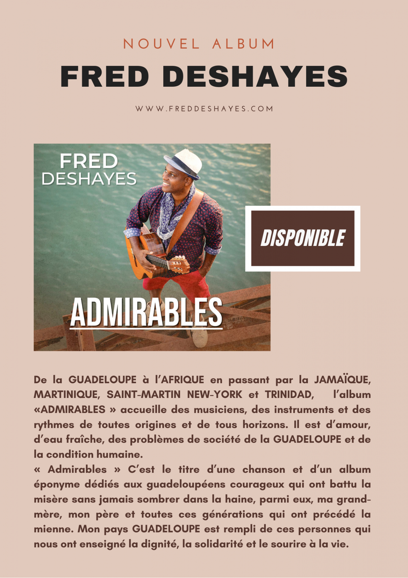 Fred deshayes admirables