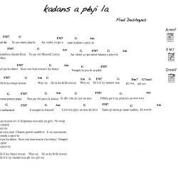 Kadans a peyi la lyrics diagram